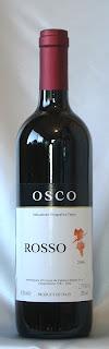 カンティーナ・クリテルニア・オスコ・ロッソ 2006 ボトル ラベル