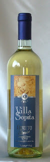 ヴィラソピタ オルヴィエート クラシコ 2004 ボトル ラベル