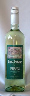 テッラ・ノストラ トレビアーノ・ダブルッツォ 2006 ボトル ラベル
