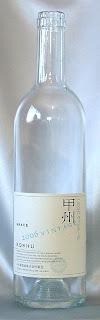 グレイス:ヴィンテージ甲州2006 ボトル ラベル