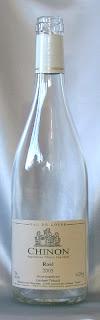 シノン ロゼ ドメーヌ・ランベール 2005 ボトル ラベル