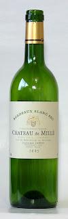 シャトー・ド・ミレ ルシアン・リュルトン&フィス ボルドーブラン 2003 ボトル ラベル