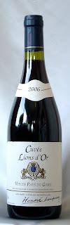 キュヴェ・リオン・ドール(赤)ヴァン・ド・ペイ・デュ・ガール 2006 ボトル ラベル