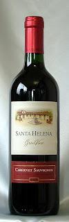サンタ・ヘレナ・グラン・ヴィーノ カベルネ・ソーヴィニヨン 2007 ボトル ラベル