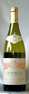 シャブリ ピエール・シャノー 2004 ボトル ラベル