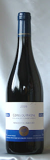 シュマン カタール コート・デュ・ローヌ2006 ボトル ラベル