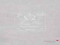 ワインのラベル壁紙(ライトグレー)