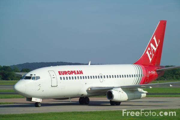 Foto Gambar Pesawat Terbang European Air Lines 03