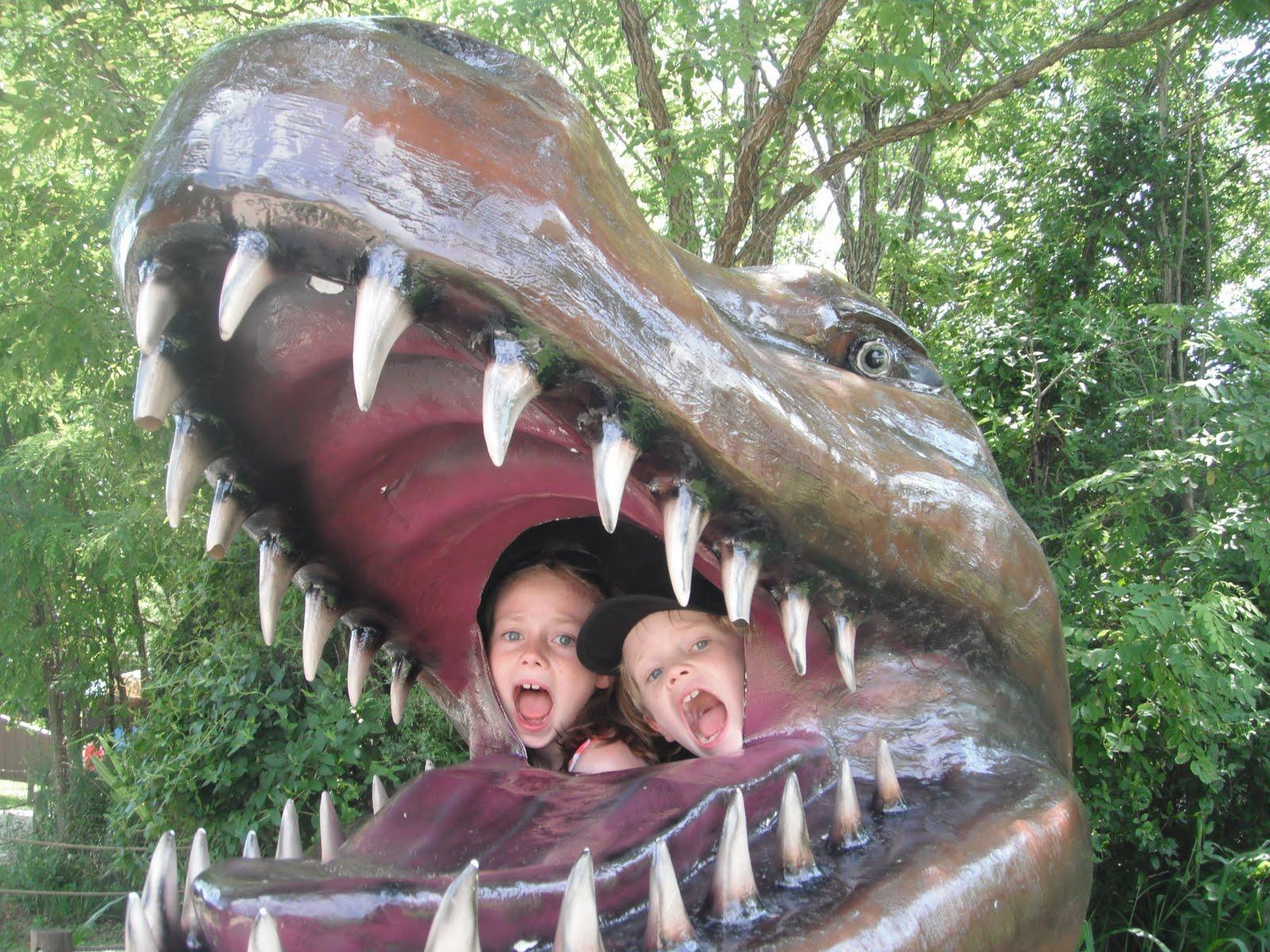 The Putneys S 39 More America Dinosaur World Cave City Ky