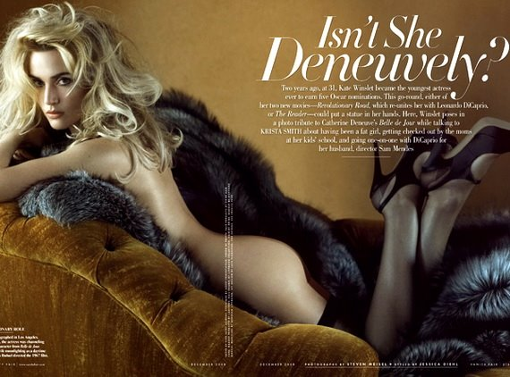 Kate Winslet, Vanity Fair December 2008, Photo 02