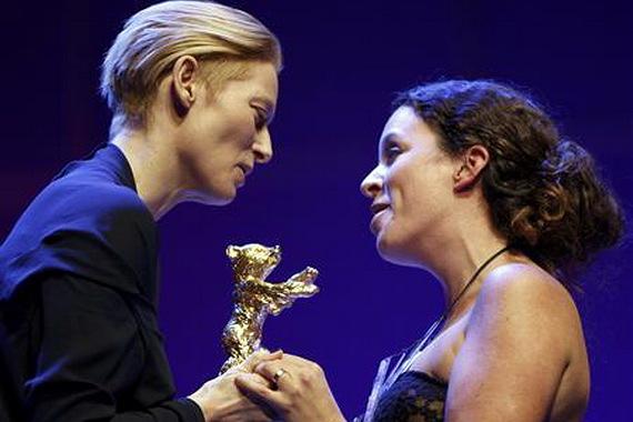Berlinale 2009 Awards, Tilda Swinton, Golden Bear and Claudia Llosa