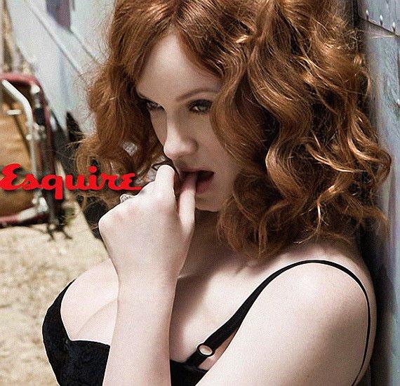 Christina Hendricks, Esquire Women We Love, Photo 01