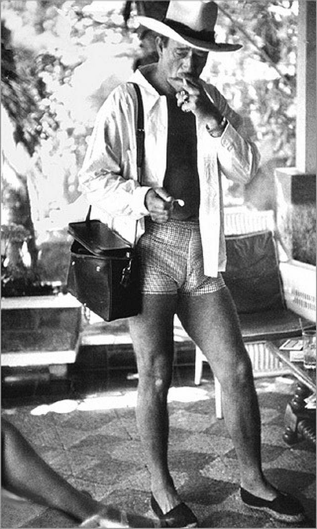 John Wayne, Mexico, 1940s(?)