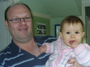 Kayleigh and Grandad Andy