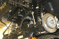 Trail Master Suspension  -- Lift Kit  -- With Shocks and Kevlar® Brake Lines