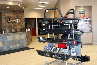 OR-Fab Product Displays Give Prescott Arizona's Jeep Dealership An Edge