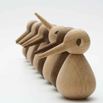 Wooden Toy Birds