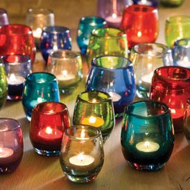 Colorful Eco-Friendly Candle Holders
