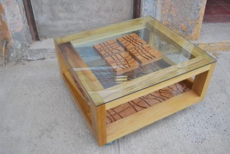 Toska mesa de centro mesas de arrimo - Mesas centro rusticas ...