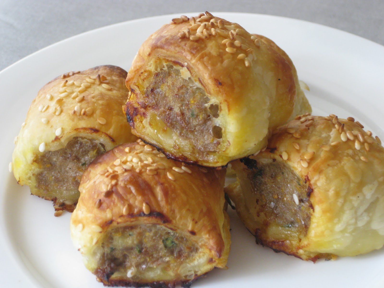 queen bee allergy free: Moroccan Sausage Rolls (dairy free, egg free ...