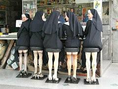Des religieuses réalisent leur fantasme!