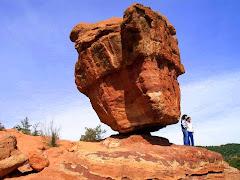Balanced Rock Garden fo the Gods-Colorado,USA
