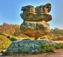 Merveilles naturelles: Brimham Rock - England, UK