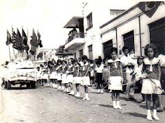 Desfile cívico, anos 60