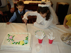 Dina's First Communion