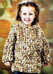 пальто для девочки 4 лет вязаное спицами.