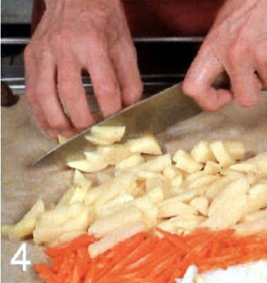 Как приготовить рагу из гуся (шаг 4)