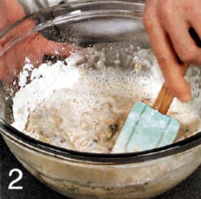 Как испечь яблочные кексы (шаг 2)