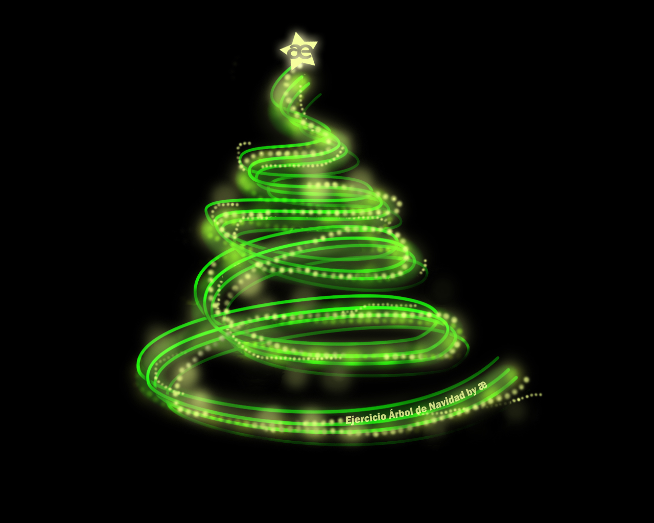 Curso de dise o gr fico ejercicio rbol de navidad - Arbol de navidad diseno ...