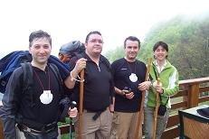 Los 4 peregrinos.