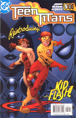 You know, the Kid Flash costume was already one of the best costumes in comic history, but somehow they actually improved it.