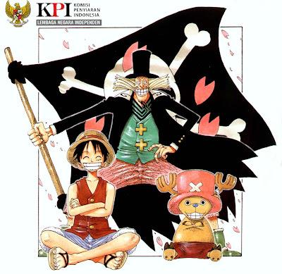 komisi penyiaran indonesia di mata penggemar one piece di indonesia