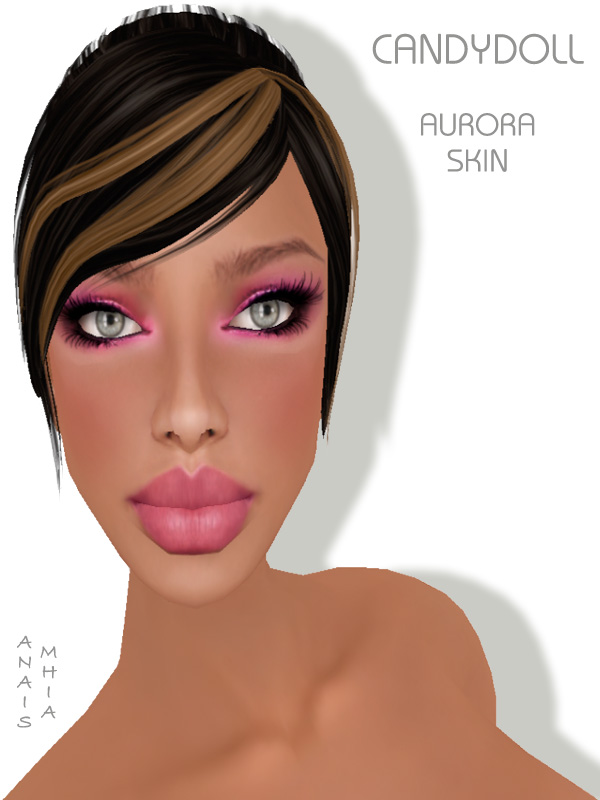 """ in Tanned tone/Natural/CL By Rebeca Dembo To * CandyDoll * - New"