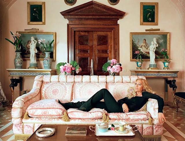 Donatella Versace in 24 Hours