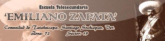 "TELESECUNDARIA ""EMILIANO ZAPATA"" ZONA 72"
