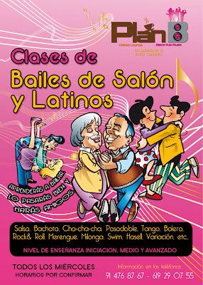 Optimo estudio de dise o cartel bailes de sal n y bailes for Academias de bailes de salon en madrid
