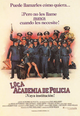 Loca academia de polica cine online gratis