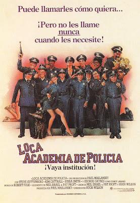 Loca academia de policía cine online gratis