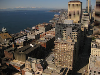 View From Smith Tower Looking Northwest