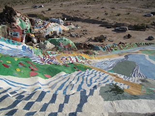 Salvation Mountain - Looking Down From the Top