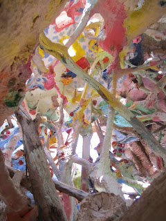Salvation Mountain - Inside the Balloon
