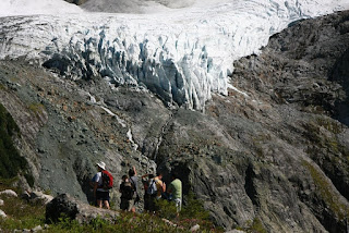 Lower Curtis Glacier Seen from Lake Ann