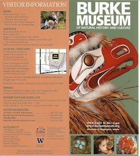 Burke Museum Brochure