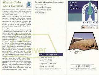 Cedar Grove Site Plan