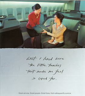 Deserted and Creepy Flight - Cathay Pacific