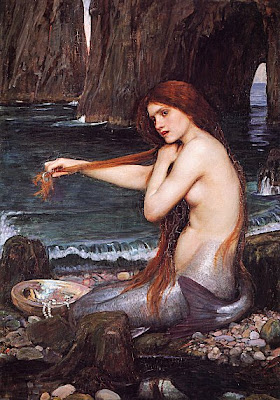 John William Waterhouse - A Mermaid (1901)